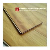 Buy cheap 3 layer Natural Iroko Engineered Wood Flooring from wholesalers
