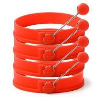 Buy cheap 4 Silicone Egg Pancake Rings from wholesalers