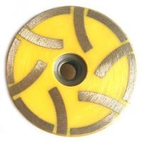 Buy cheap Resin Filled Continous Flat Cup Grinding Wheel Designed For Stones With 6 Segments from wholesalers