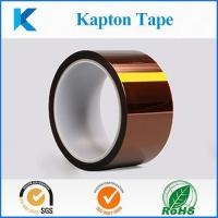 Buy cheap Kapton tape, high temperature masking tape with polyimide film from wholesalers