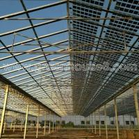 Agricultural Professional Solar Greenhouse with Solar Panels