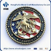 Buy cheap Zinc Alloy Souvenir Coin by Plating Chrome with Glitter Painting Odd Edge from wholesalers