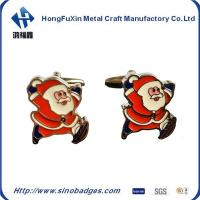 Buy cheap Funny Christmas Man Lacquer Cufflinks from wholesalers