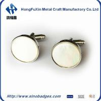 Buy cheap Genuine Gemstone Sapphire & CZ 925 Solid Sterling Silver Men's Cufflinks Jewelry from wholesalers