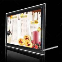 Buy cheap Ultra Thin Crystal Edge Light Box Display from wholesalers