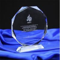 Buy cheap Smart Design 3D Engraved Crystal Awards Trophy from wholesalers