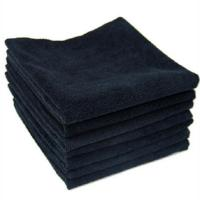 Buy cheap Disposable Black Microfiber Towels for Hair Salons from wholesalers