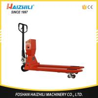 Buy cheap Hand pallet truck scale from wholesalers