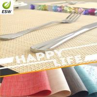 Buy cheap 2014 Hot Sell Design Vinyl Woven Placemat product