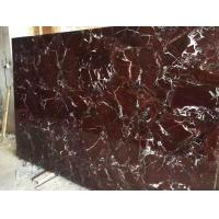 Buy cheap Rosso Levanto Red Marble Slabs For Vanity Top And Flooring from wholesalers