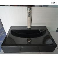 Buy cheap Polished Nature Granite Marble Stone Bathroom Basin And Sink from wholesalers