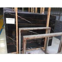 Buy cheap Sahara Noir Black Marble Tiles And Slabs from wholesalers