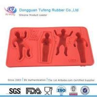 Buy cheap Silicone Kitchenware Fun Icy Dead People Shaped Whiskey Cool Ice Cube Tray Mold Silicone from wholesalers