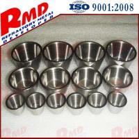 Buy cheap High Melting Point Precision Polished Customized Tungsten Crucibles Part by Drawing product
