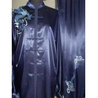 Buy cheap Martial Arts Uniforms 2012 Dark blue kungfu suit 2012718154634 from wholesalers