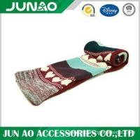 Buy cheap Knitted long scarf with pattern from wholesalers