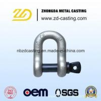 Buy cheap China OEM Alloy Steel Forging Shackle for Railway from wholesalers