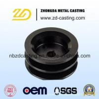 Buy cheap OEM Steel Forging Taper Bore Pulley with Machining from wholesalers