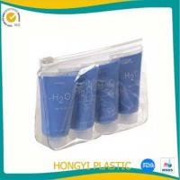 pvc plastic cosmetic bag