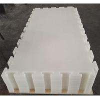 Buy cheap Pure white color UHMWPE synthetic ice rink floor with high quality from wholesalers