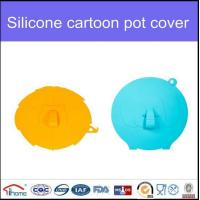 Buy cheap Animal Shape Cooking Food Storage Microwave Silicone Pot Lid Cover from wholesalers