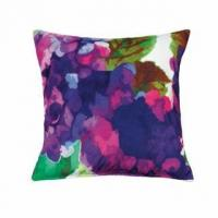 Buy cheap Purple Impressionist Throw Pillow from wholesalers