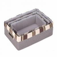 Buy cheap Neutral Nesting Baskets product