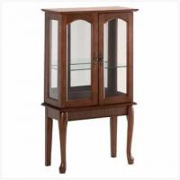 Buy cheap Unique Gifts Wood Curio Cabinet from wholesalers