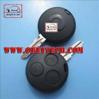 Buy cheap Benz Smart 3 buttons remote key blank from wholesalers