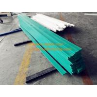 Buy cheap cutting green hdpe wear strips from wholesalers