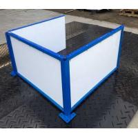 Buy cheap Basketball dasher boards | Floorball rink board | Portable soccer wall from wholesalers