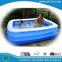 Buy cheap pvc family inflatable swimming pool from wholesalers