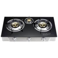 Buy cheap Hot Sale Domestic Portable with Chinese Or India Brass Burner with Straight Flame Table Gas Hob from wholesalers