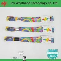 Buy cheap Joy Wristband Event Nfc Rfid Woven Wristband from wholesalers