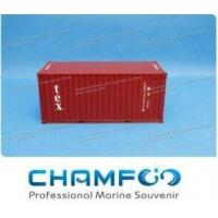 Buy cheap 1:30 TEX Diecast Alloy Container Model Miniature Container from wholesalers