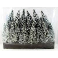 Buy cheap Bachmann OO/HO Pack of 24 Assorted Snow Pine Trees from wholesalers