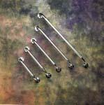 Buy cheap 32 Knurled Chrome Grab Bars (Pack of 3) from wholesalers