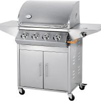 Buy cheap 4 burner 67000 BTU stainless steel gas barbecue grill from wholesalers