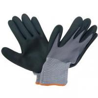 Buy cheap HNN453 Ultra thin Nitrile foam coated work glove from wholesalers