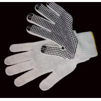 Buy cheap HKP115 PVC dotted cotton glove from wholesalers