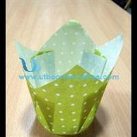 Buy cheap Tulip Cup Cupcake Wrapper Paper Cake Cup from wholesalers