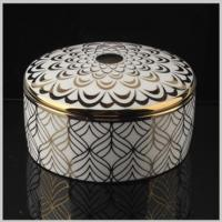 Buy cheap Lovely OEM Welcome Ceramic Jewelry Holder Fashion Ring Box from wholesalers