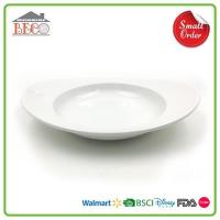 Buy cheap Deep Plastic Melamine Italian Pasta Bowls And Black White Pasta Bowl Sets Dinnerware On Sale product
