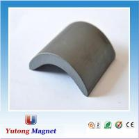 Buy cheap Arc motor ferrite magnet for fans from wholesalers
