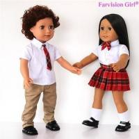 Buy cheap EXCLUSIVE DESIGNS boy and girl dolls 18 inch twins doll Wholesale from wholesalers