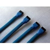 Buy cheap sleeved sata 7pin male to female cable product