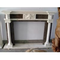 Buy cheap Marble electric fireplace mantel from wholesalers