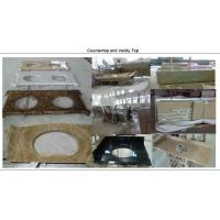 Buy cheap Construction bath vanity countertops from wholesalers