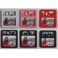Buy cheap Pvc photo frame KD820002 plastic injection photo frame from wholesalers