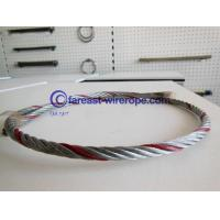 Buy cheap Color Strand Galvanized Steel Wire Rope 6*19 from wholesalers